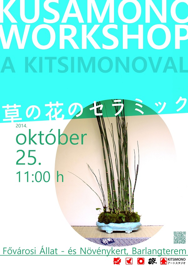 kitsimono kusamono workshop bemutato grassbonsai performance