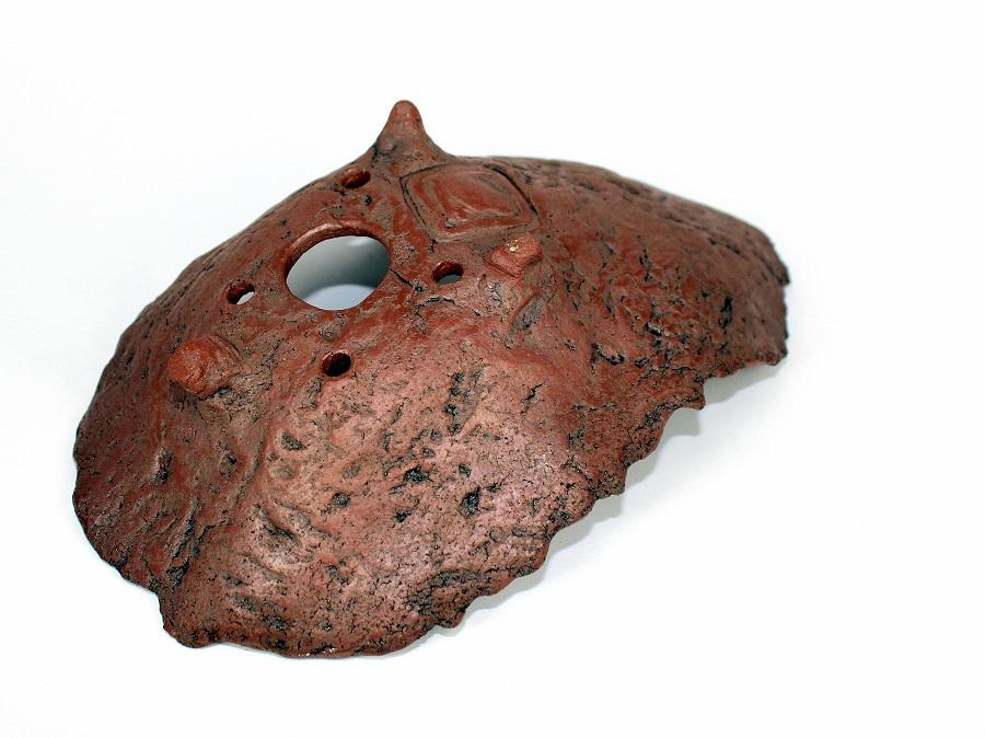 kurama bonsai tal pot rock bowl crescent pot kitsimono art ceramikku (4)